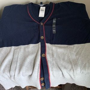 Tommy Hilfiger Button Up Cardigan Sweater